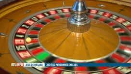RTL INFO 19H : 360.553 personnes sont interdites de jeux de hasard