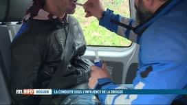 RTL INFO 19H : Hausse des conducteurs contrôlés sous influence de la drogue