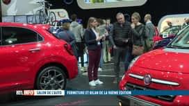 RTL INFO 19H : Salon de l'auto: le Belge est séduit par les modèles plus propres