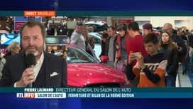 RTL INFO 19H : Salon de l'auto: beau succès de foule pour l'édition 2020