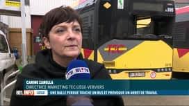RTL INFO 19H : Un bus traversant Droixhe a été touché par des balles réelles