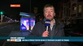 RTL INFO 19H : Grève des TEC: en direct de Liège avec Vincent Jamoulle