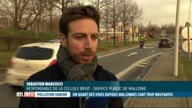 RTL INFO 19H : Un quart des routes wallonnes seraient trop bruyantes