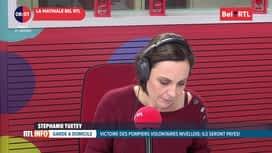 RTL INFO sur Bel RTL : RTL Info 8h du 21/01