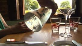 RTL INFO 19H : La gratuité de l'eau dans les restaurants au menu du Parlement wallon