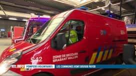 RTL INFO 19H : La garde des pompiers de Nivelles, c'est bien du temps de travail