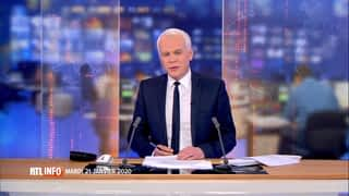 RTL INFO 19H : RTL INFO 19 heures (21/01/20)