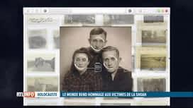 RTL INFO 19H : La reconnaissance faciale pour aider à témoigner sur la Shoah