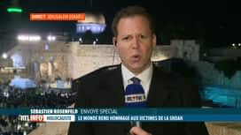RTL INFO 19H : Cérémonie internationale au mémorial Yad Vashem demain à Jerusalem