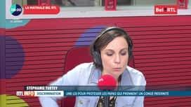 RTL INFO sur Bel RTL : RTL Info 8h du 23/01
