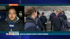 RTL INFO 19H : Mouvement de grève dans plusieurs prisons belges