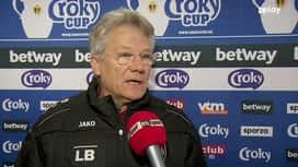 Croky Cup : 23/01 : Laszlo Boloni (avant match)