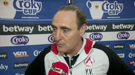 Croky Cup : 23/01 : Yves Vanderhaeghe (Après match)