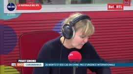RTL INFO sur Bel RTL : RTL Info 8h du 24/01