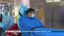 RTL INFO 19H : Virus chinois: des mesures ont été prises un peu partout dans le monde