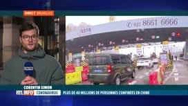 RTL INFO 19H : Virus chinois : la Belgique déconseille les voyages vers Hubei