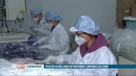 RTL INFO 19H : Virus chinois : près de 40 millions de personnes en quarantaine