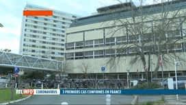 RTL INFO 19H : Coronavirus chinois: trois cas confirmés en France