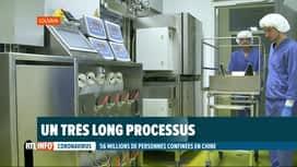 RTL INFO 19H : Coronavirus chinois: des chercheurs belges planchent sur un vaccin