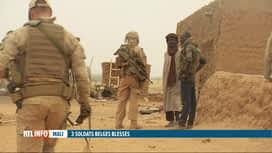 RTL INFO 19H : Mali: trois soldats belges blessés par un engin explosif