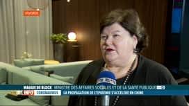 RTL INFO 19H : Maggie De Block s'exprime à propos du coronavirus, très contagieux