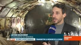 RTL INFO 19H : Le mémorial rénové de la caserne Dossin a été inauguré