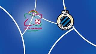 Croky Cup : 05/02 : Zulte Waregem - FC Bruges