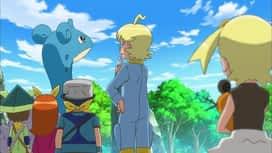 Pokemon : S17E48 Clem et les forces de défense !
