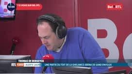 RTL INFO sur Bel RTL : RTL info 13h du 11/02