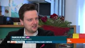RTL INFO 13H : Formation fédérale: réactions suite à la démission de Koen Geens