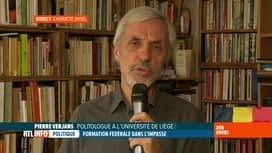 RTL INFO 13H : Formation fédérale: analyse avec Pierre Verjans, politologue à l'ULg