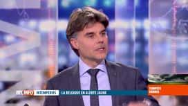 RTL INFO 13H : La tempête Dennis devrait toucher la Belgique cette nuit