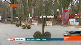 RTL INFO 13H : En raison de la tempête Dennis, certains parcs belges ferment