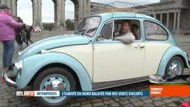 """RTL INFO 13H : Tempête Dennis: la """"Love Bugs Parade"""" change son parcours à Bruxelles"""