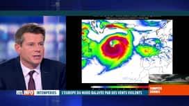 RTL INFO 13H : Tempête Dennis: l'analyse météo de David Dehenauw