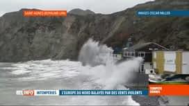 RTL INFO 13H : Tempête Dennis: le Royaume-Uni subit les assauts du vent et de la...