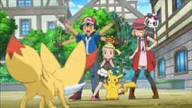 Pokemon : S18E16 Combattre avec élégance et avec le sourire !