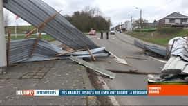 RTL INFO 13H : Tempête Dennis: les prévisions pour les heures et jours à venir