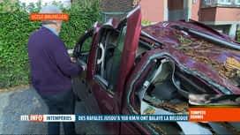 RTL INFO 13H : Tempête Dennis: les dégâts vont coûter cher aux Assurances