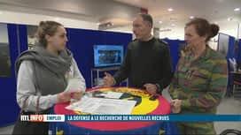 RTL INFO 13H : L'armée belge recrute et veut féminiser son personnel