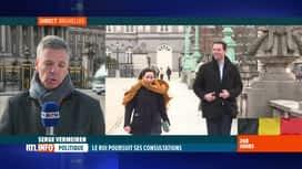 RTL INFO 13H : Le Roi a consulté ce matin le MR, le sp.a et Ecolo