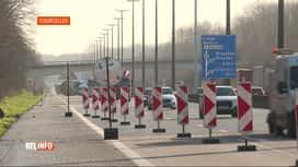 RTL INFO 13H : La E42 à Courcelles et la E19 à Arquennes sont rouvertes