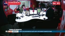 RTL INFO sur Bel RTL : RTL Info 13h du 19/02