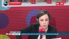 RTL INFO sur Bel RTL : RTL Info 8h du 20/02