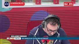 RTL INFO sur Bel RTL : RTL Info 8h du 21/02