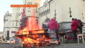 RTL INFO 13H : Grève des gardiens de prison pour le 4ème vendredi d'affilée