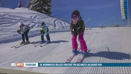 RTL INFO 19H : Les sports d'hiver attirent plus de 700.000 Belges chaque année