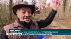 RTL INFO 19H : Les Gaumais excédés par les interdictions dues à la peste porcine a...
