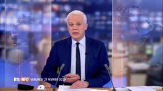 RTL INFO 19H : RTL INFO 19 heures (21/02/20)