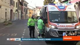 RTL INFO 19H : Coronavirus chinois: deux morts en Italie